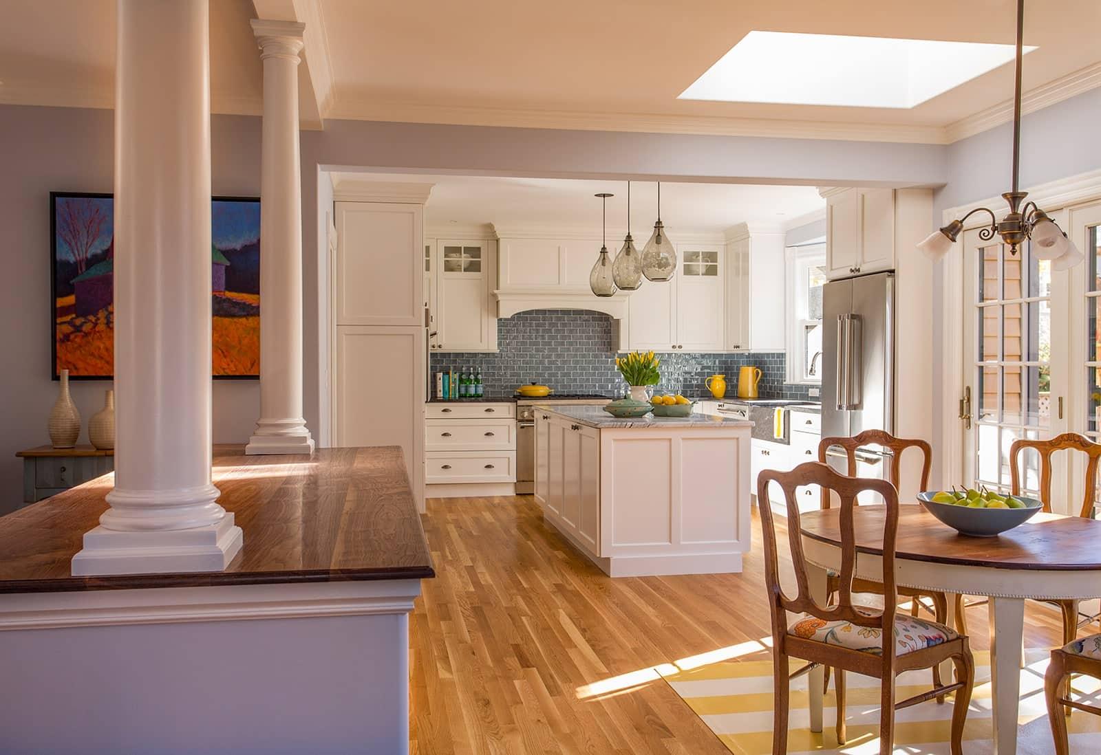 Belmont MA Victorian Kitchen