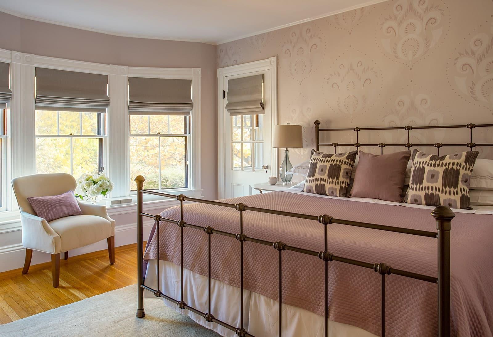 Belmont MA Victorian Bedroom