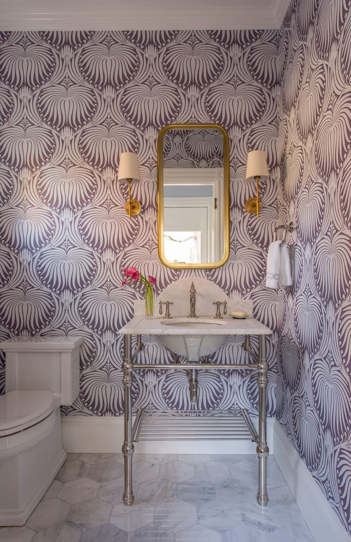 Belmont MA Victorian Bathroom