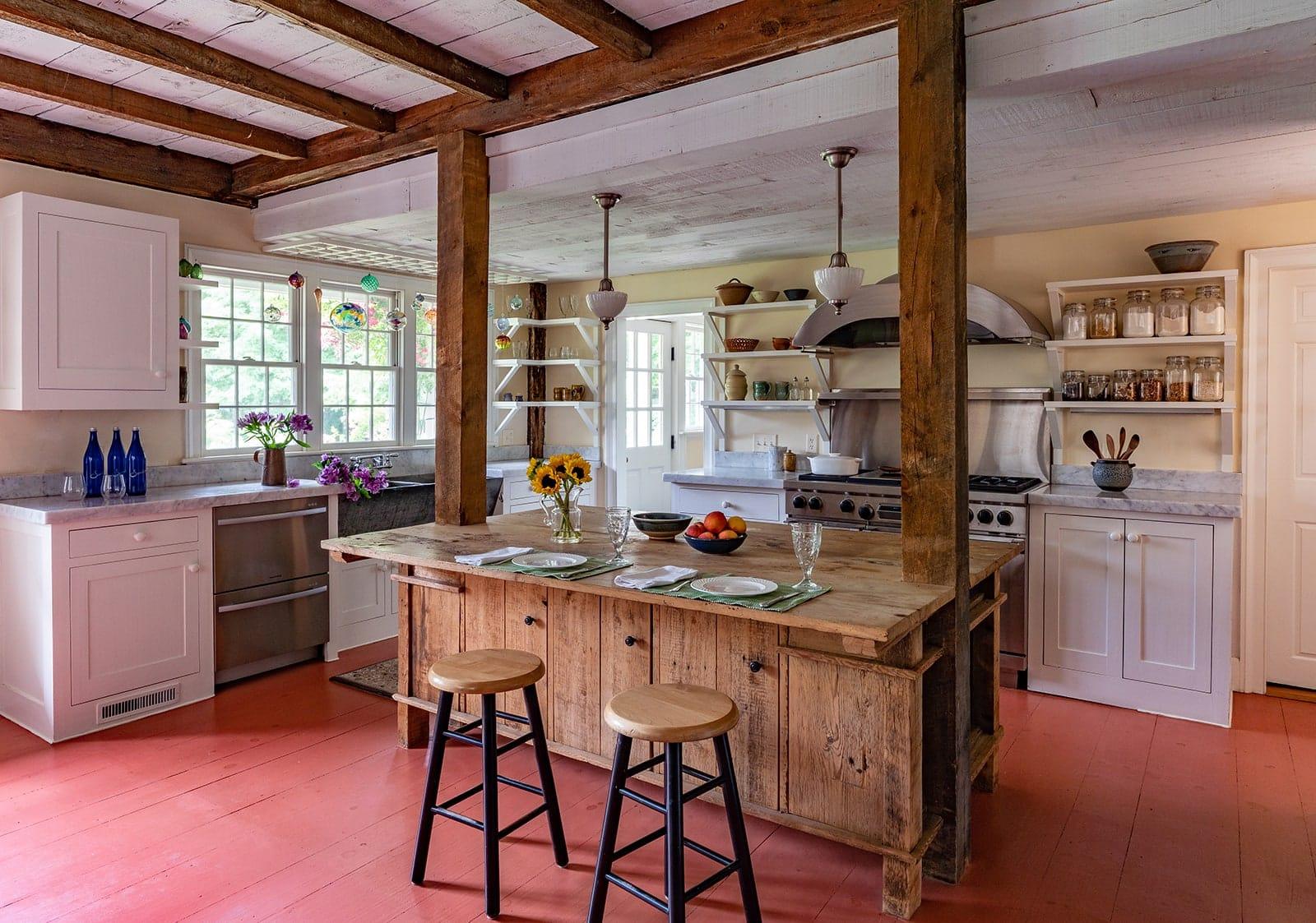Day Dodge House Ipswich MA Historic Kitchen