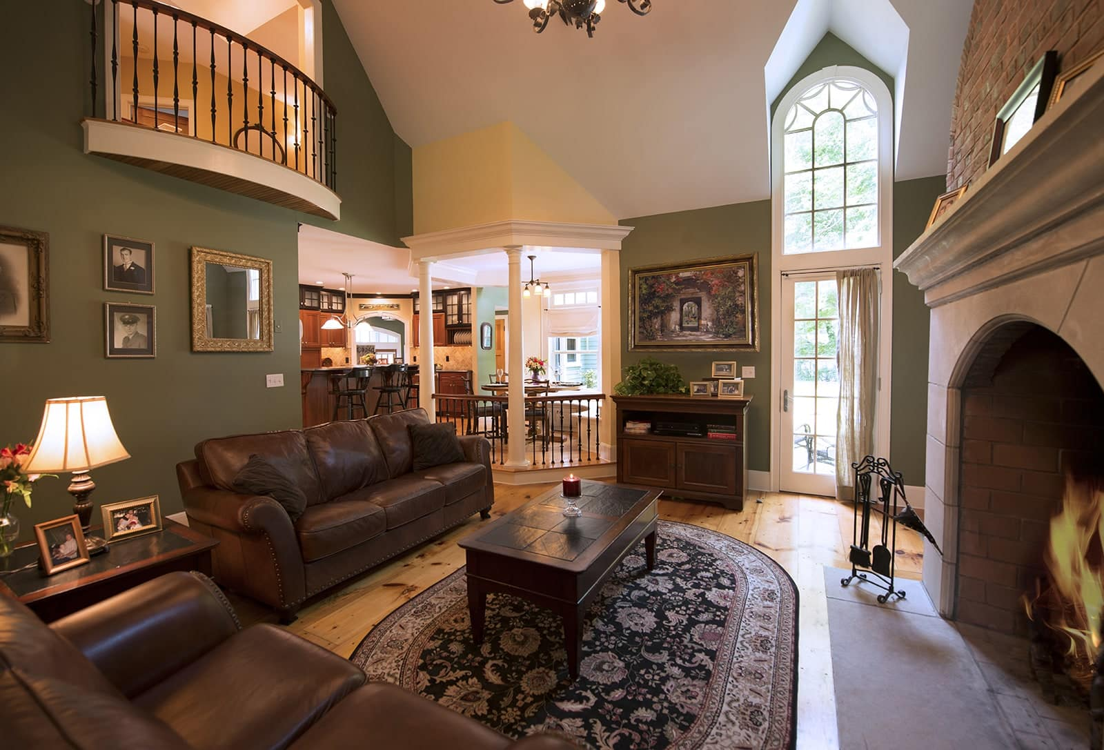 Eclectic Elegance Ipswich MA Living Room
