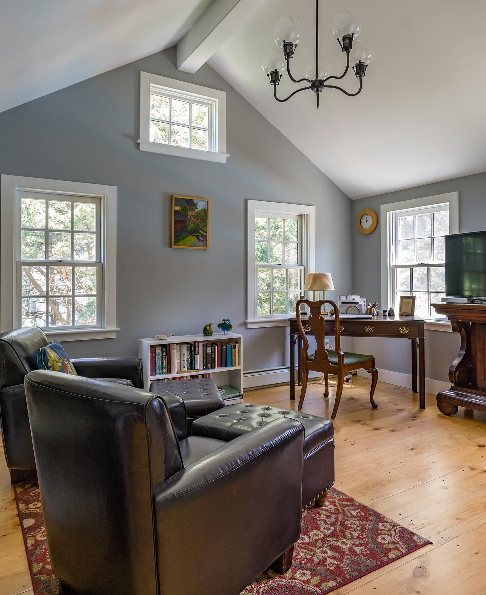 Historic Haverhill MA Interior Living Room