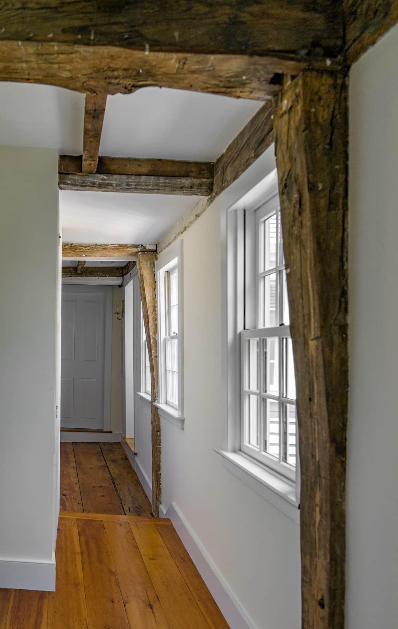 Historic Haverhill MA Interior Hallway