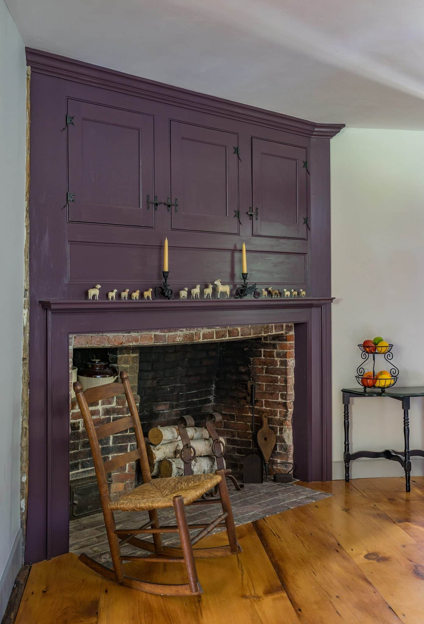 Historic Haverhill MA Interior Fireplace
