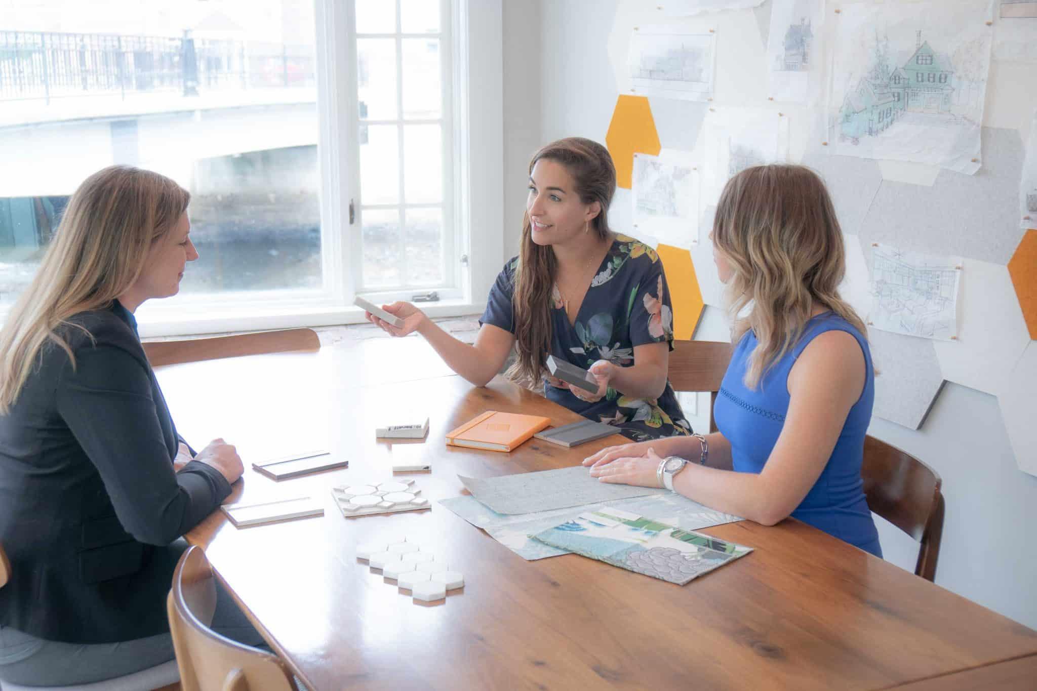 Interiors Allowance Client Meeting