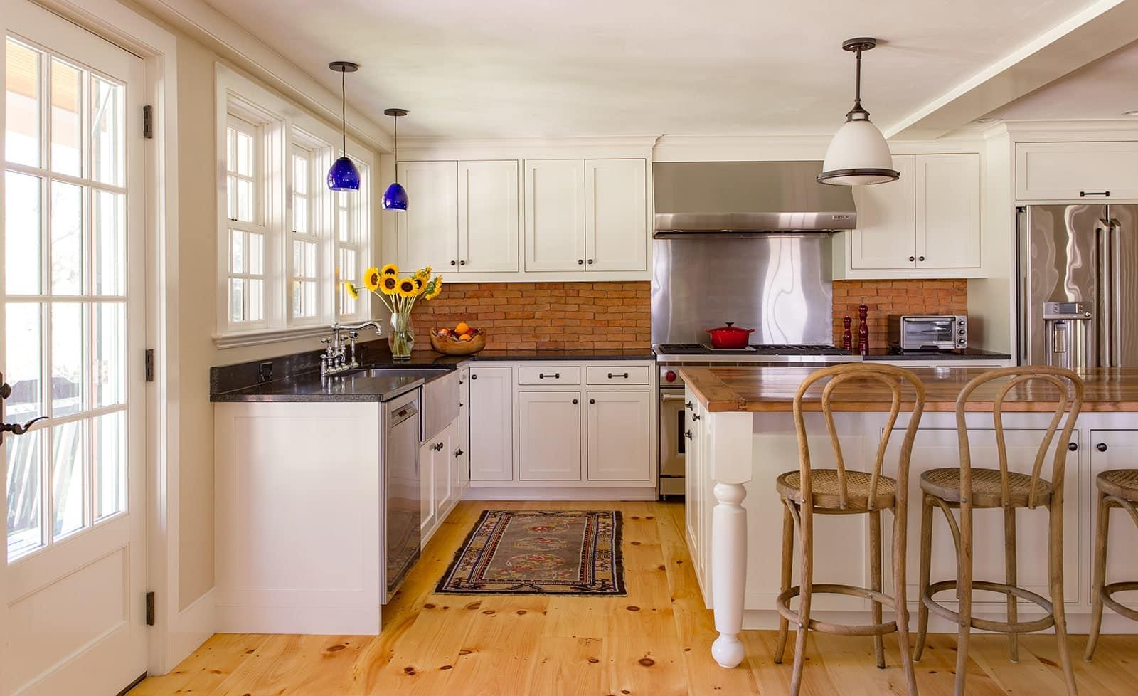 Johnson Thompson House Winchester MA Kitchen