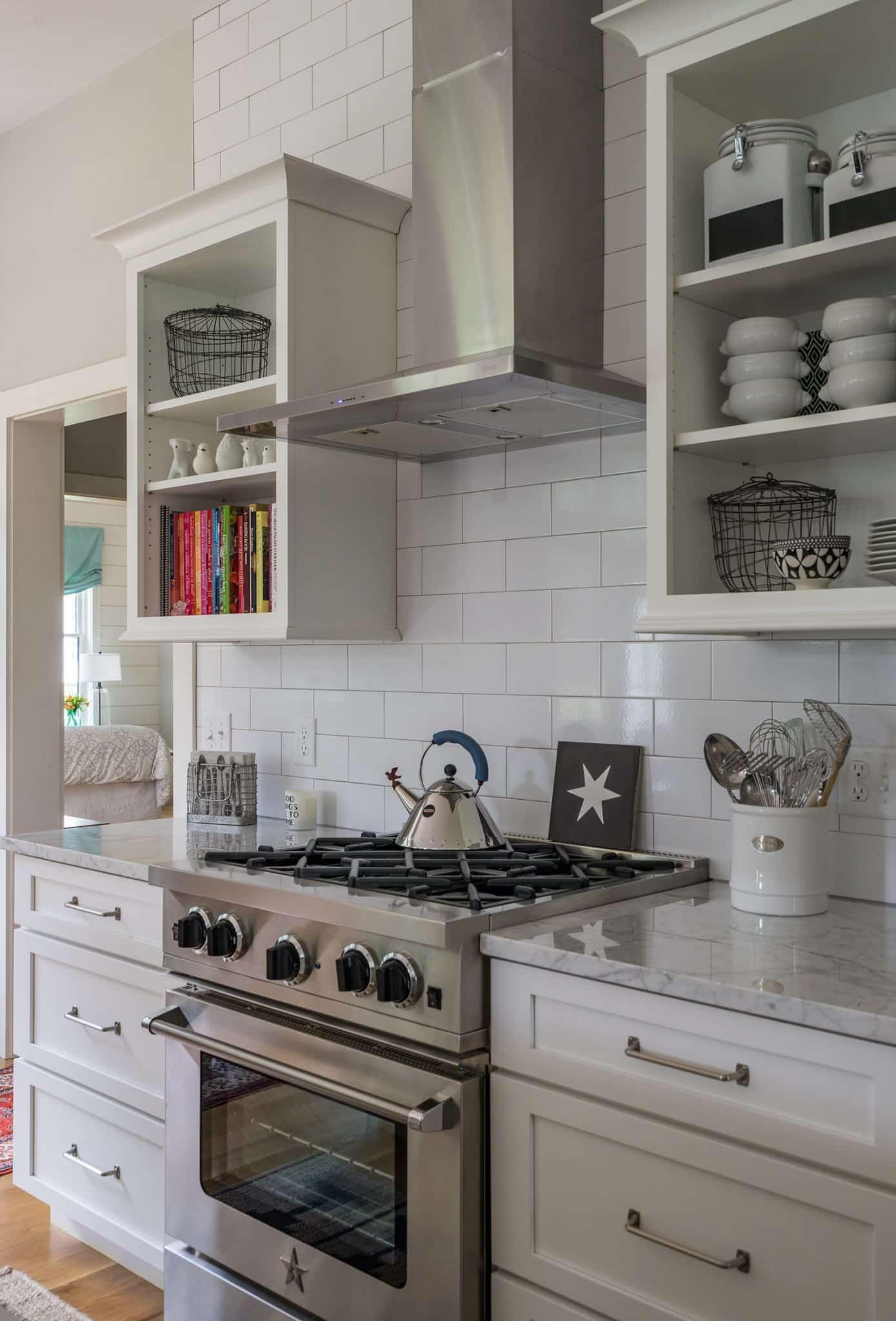 Modern Farmhouse Newbury MA Kitchen