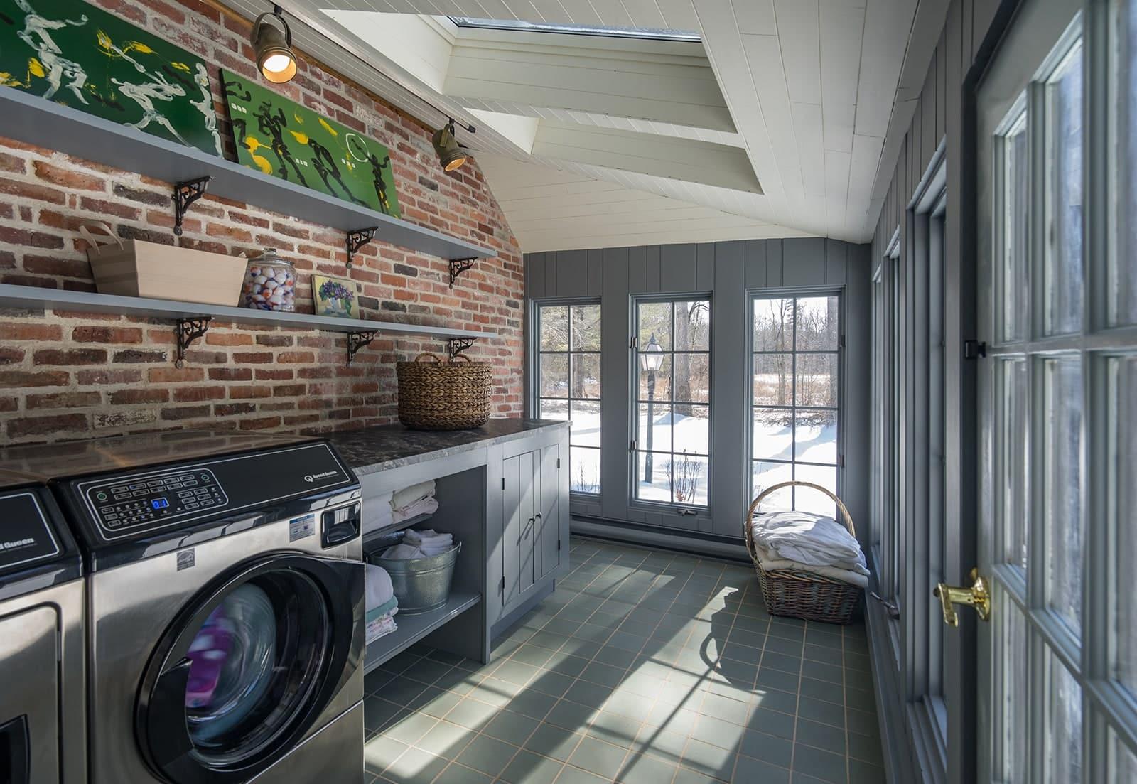 New Hampshire Homestead Historic New Hampshire Homestead Historic Interior Laundry