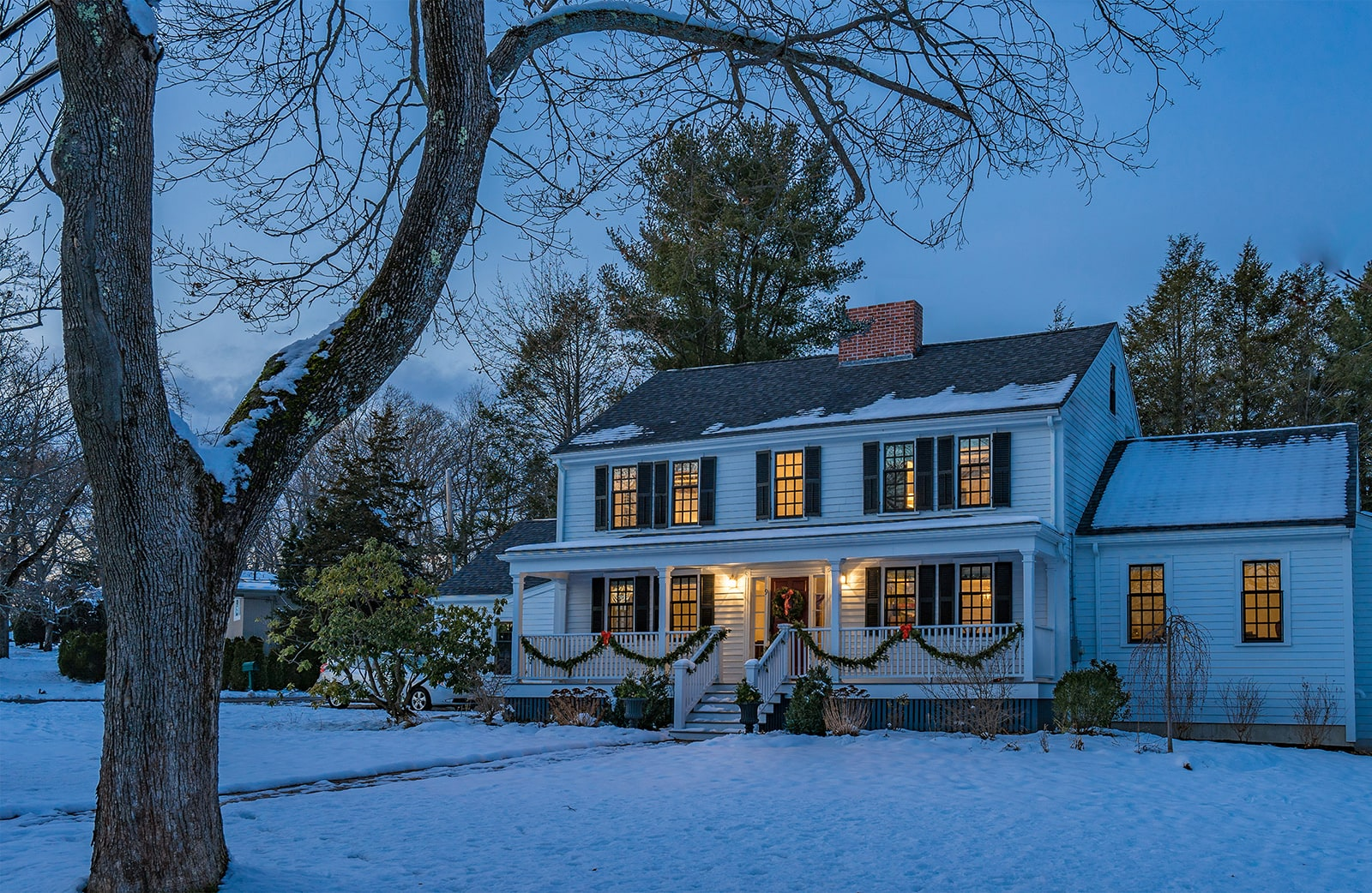 Timothy Hyde House Newton MA Colonial