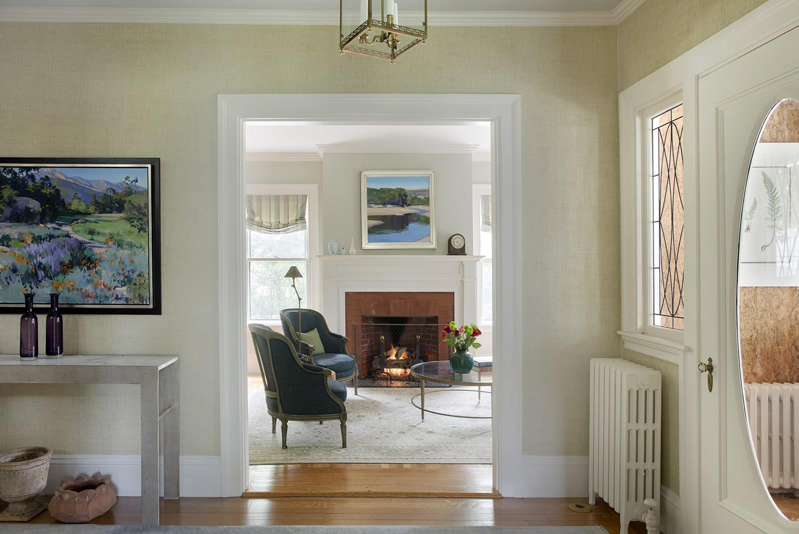 Winchester MA Serenity Entryway