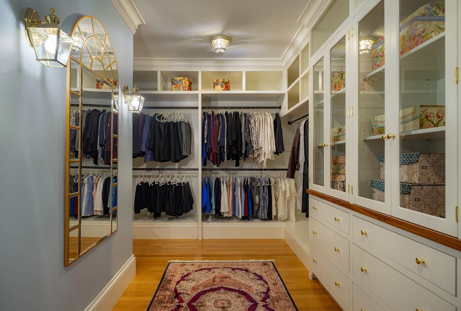 Winchester MA Victorian Closet