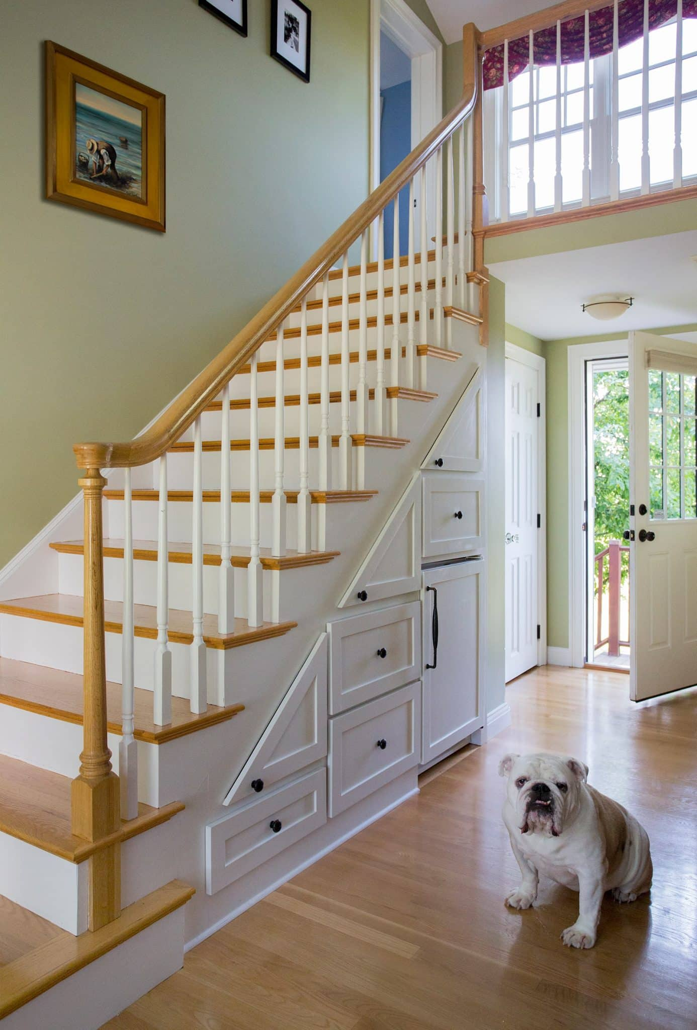 Cape Style Home Interiors Ipswich MA Stairs