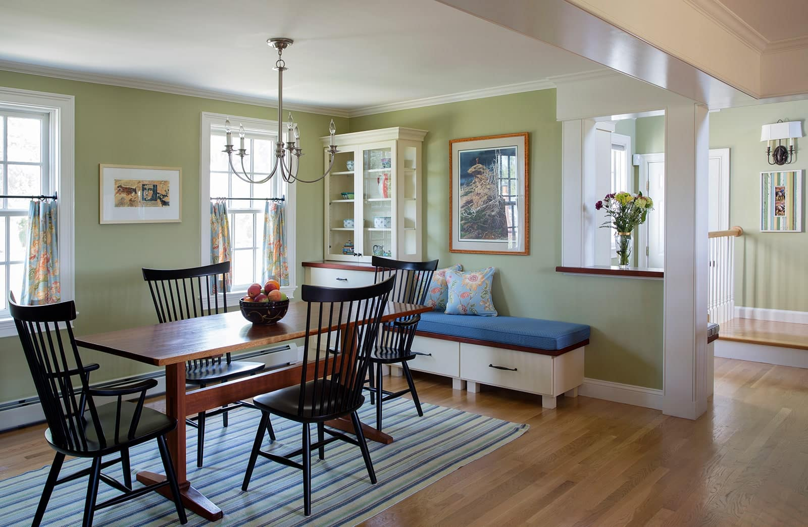 Cape Style Home Interiors Ipswich MA Dining Room