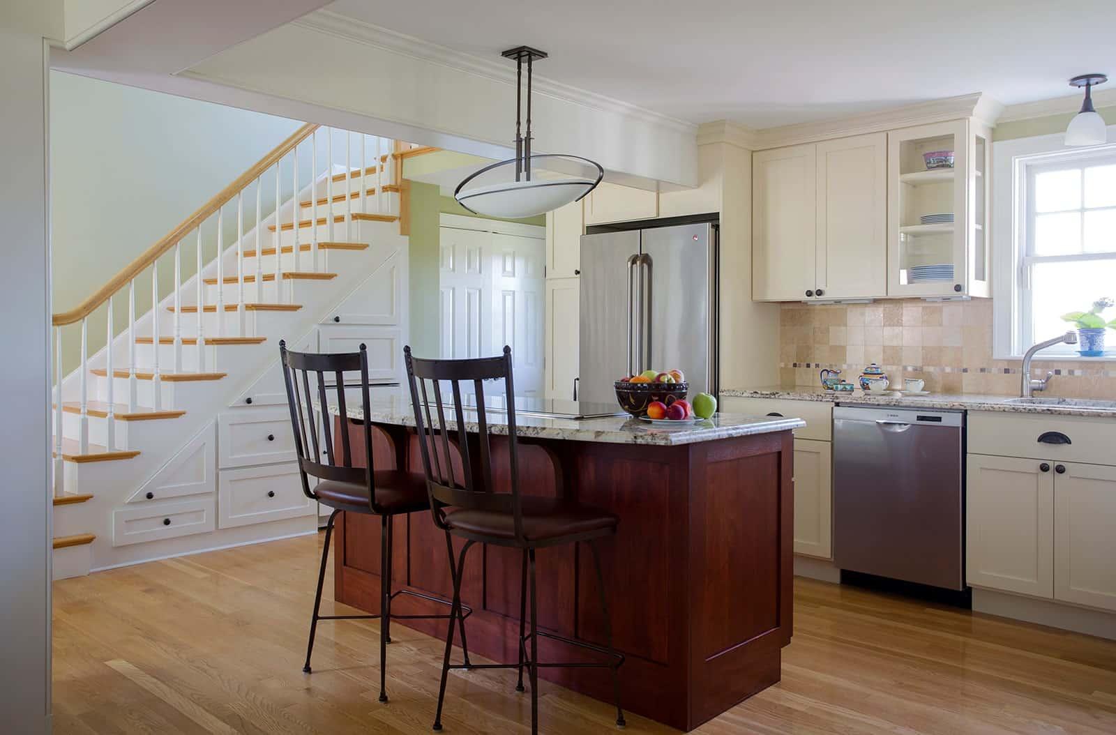 Cape Style Home Interiors Ipswich MA Kitchen