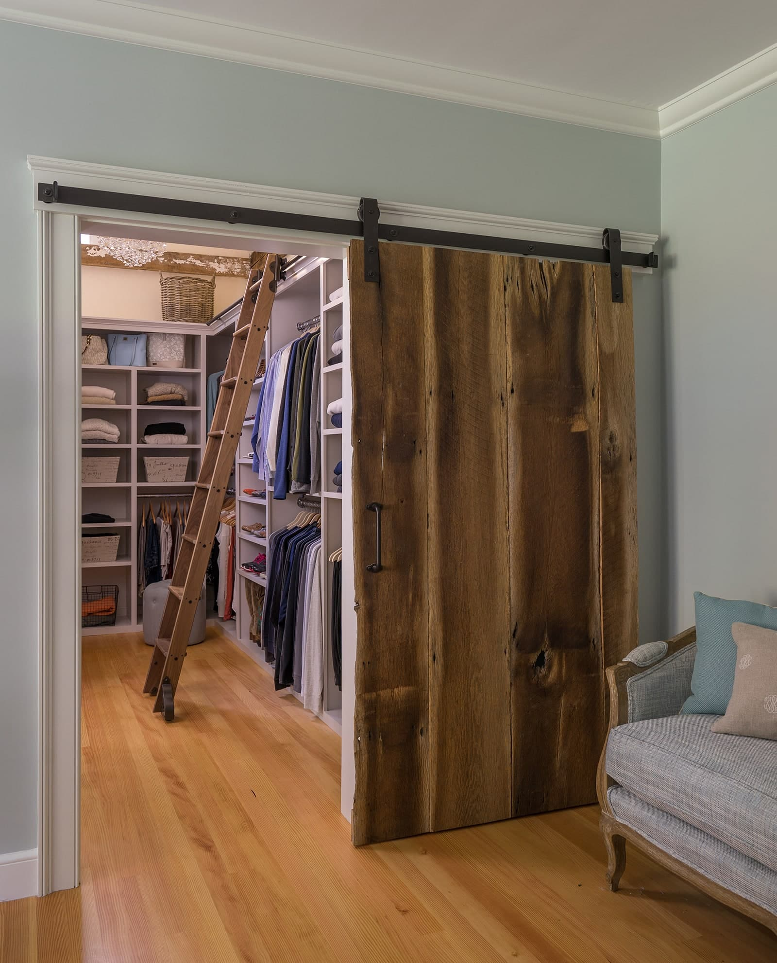 Farmhouse Flair Interiors Ipswich MA Closet