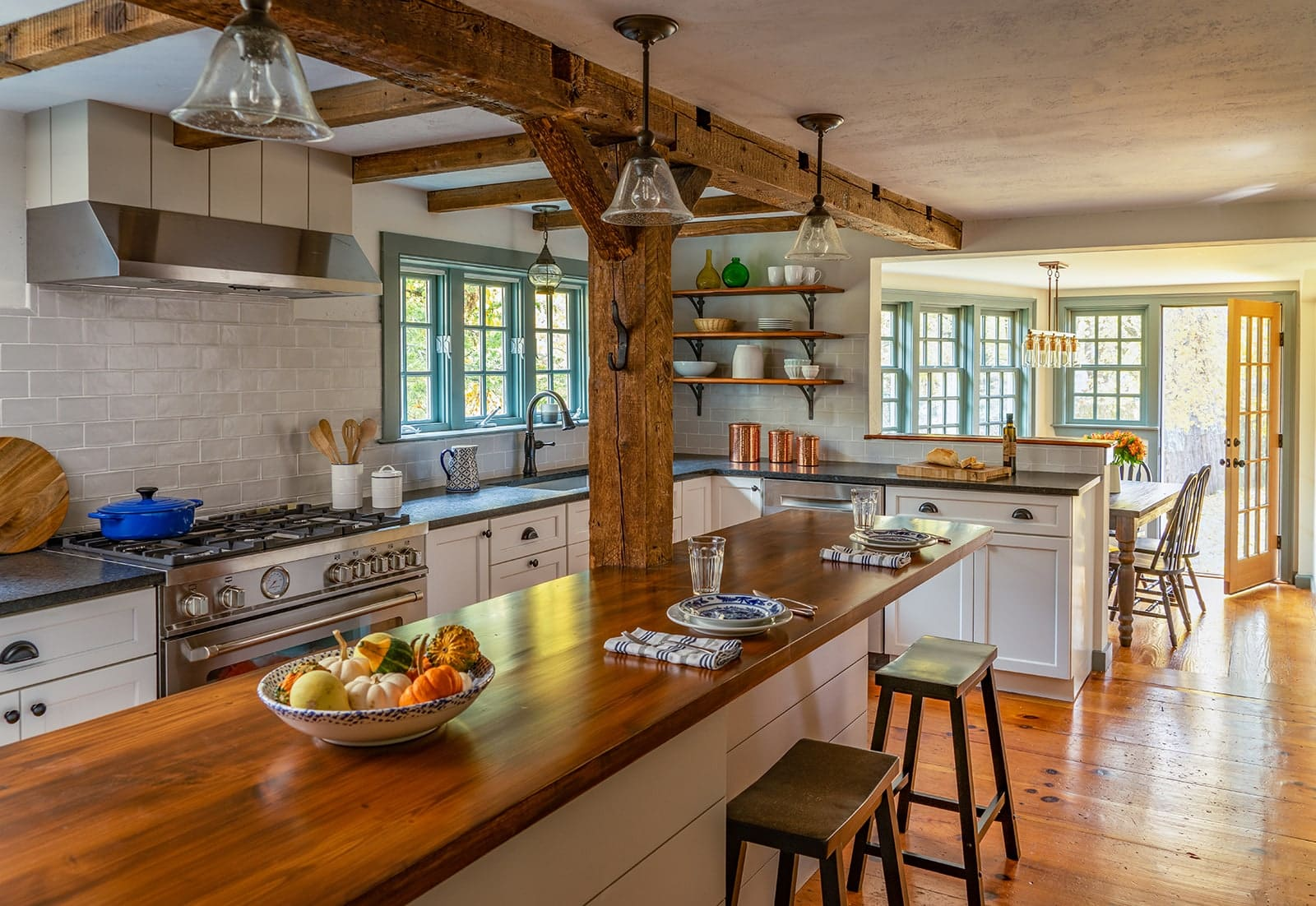John Kimball Jr House Interiors Ipswich MA Kitchen