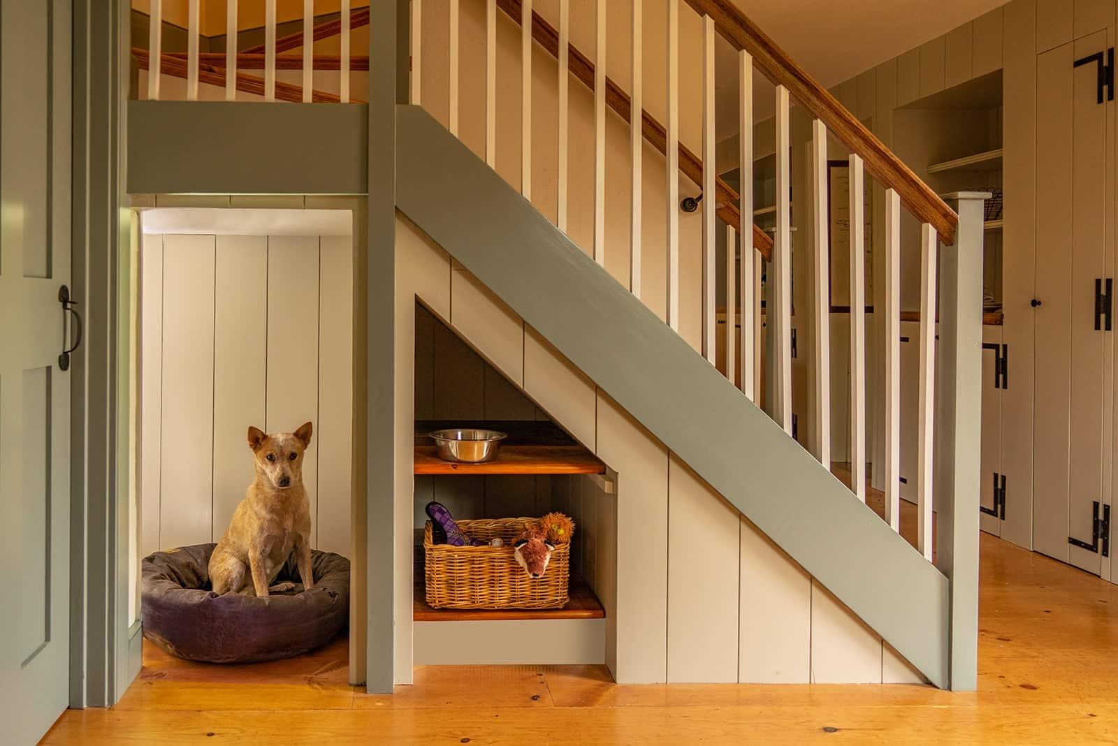 John Kimball Jr House Interiors Ipswich MA Stairs