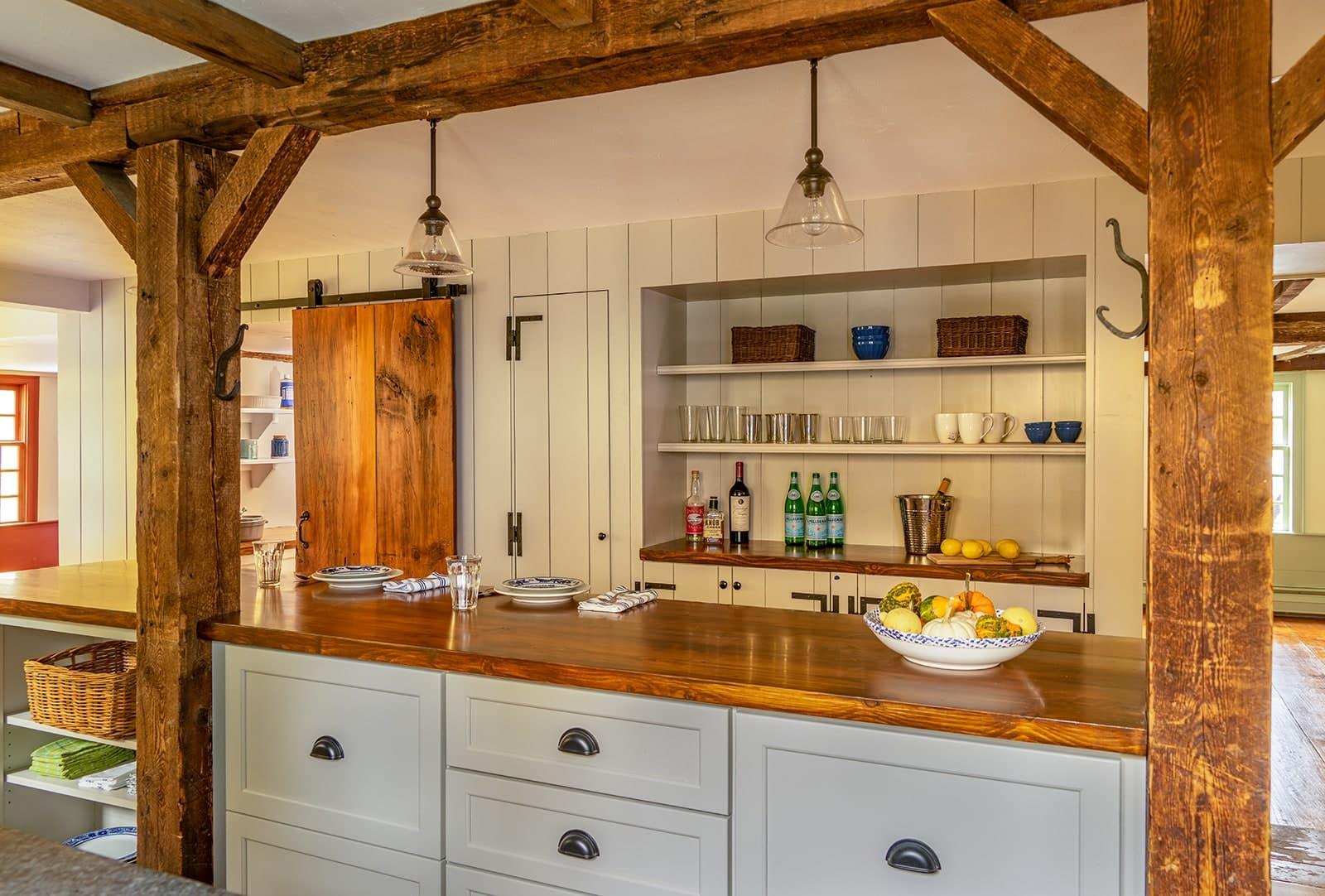 John Kimball Jr House Interiors Ipswich MA Kitchen