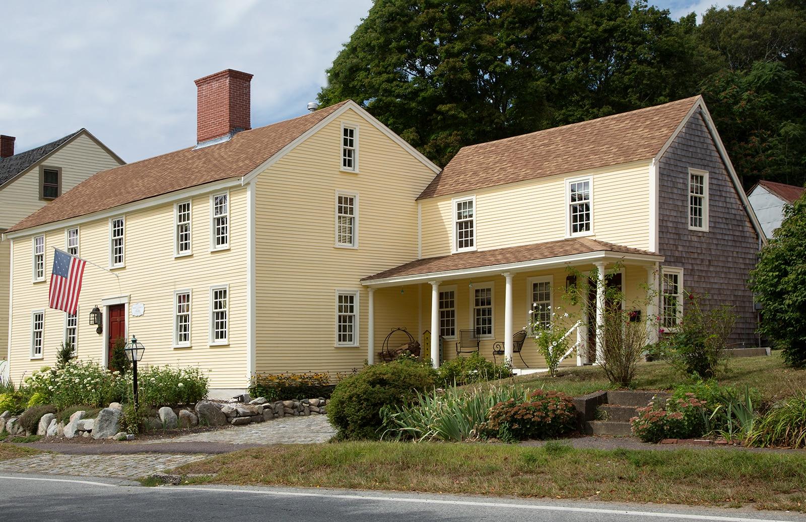 Lummus House Historic Colonial Ipswich MA exterior