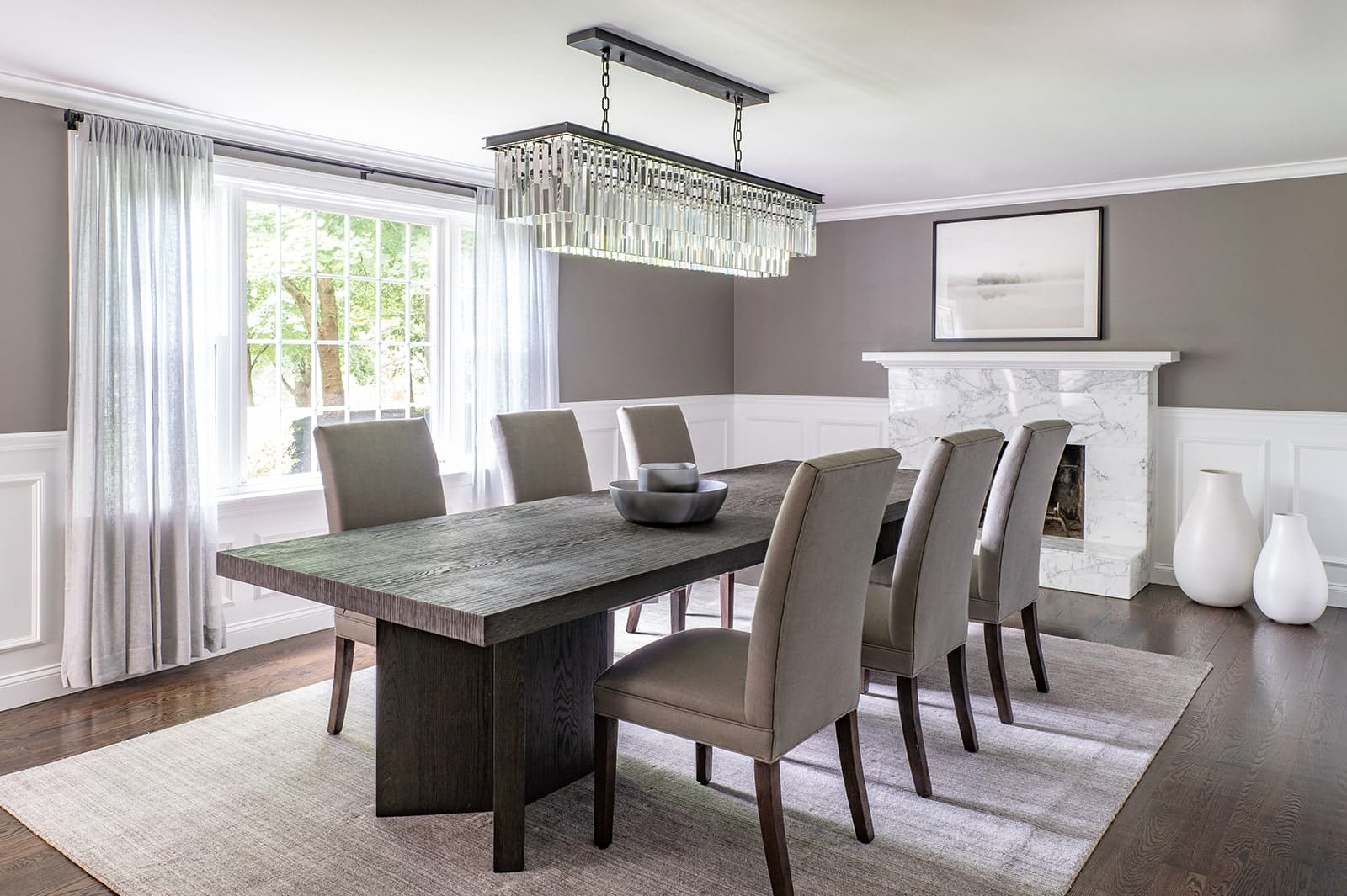 North Shore Tranquility Interiors Middleton MA Dining Room