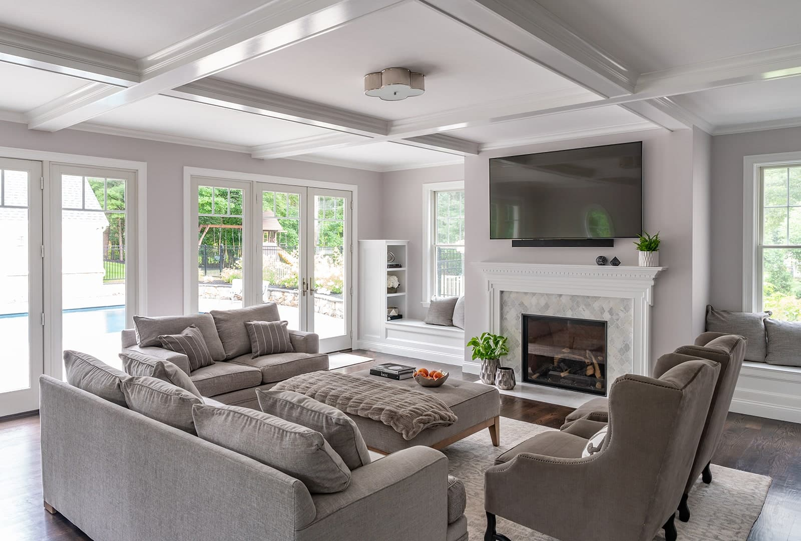 North Shore Tranquility Interiors Middleton MA a Living Room