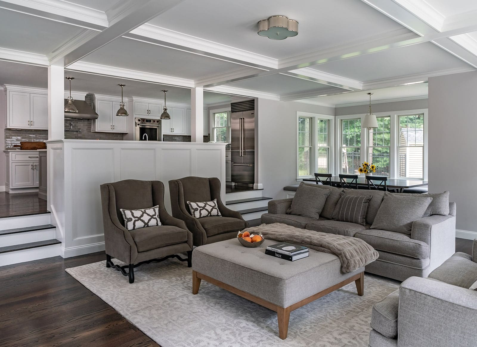 North Shore Tranquility Interiors Middleton MA Living Room