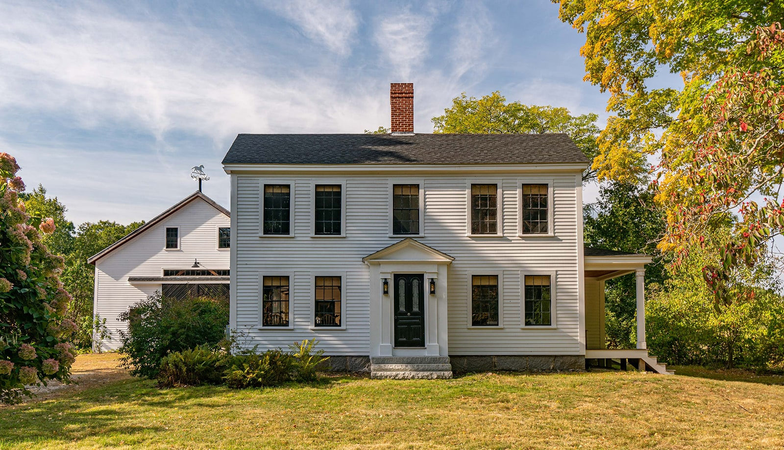Arrowhead Farmhouse Newburyport MA Exterior