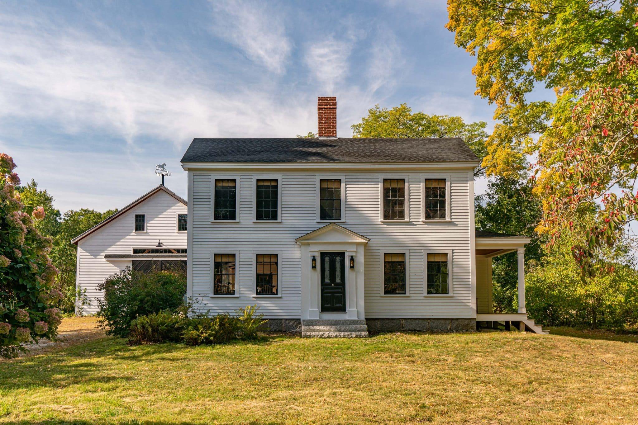Arrowhead Farmhouse Newburyport MA Exterior
