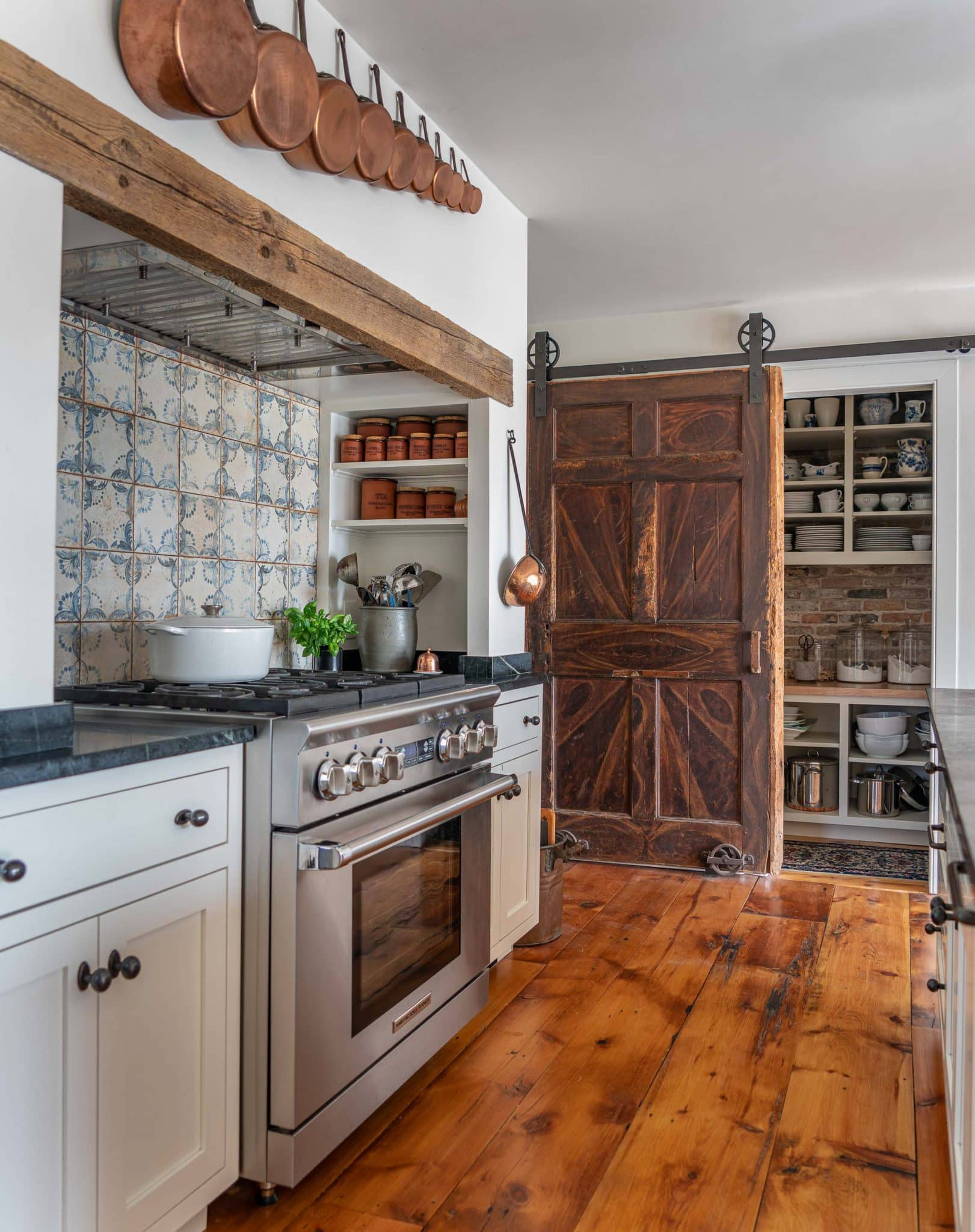 Arrowhead Farmhouse Newburyport MA Kitchen