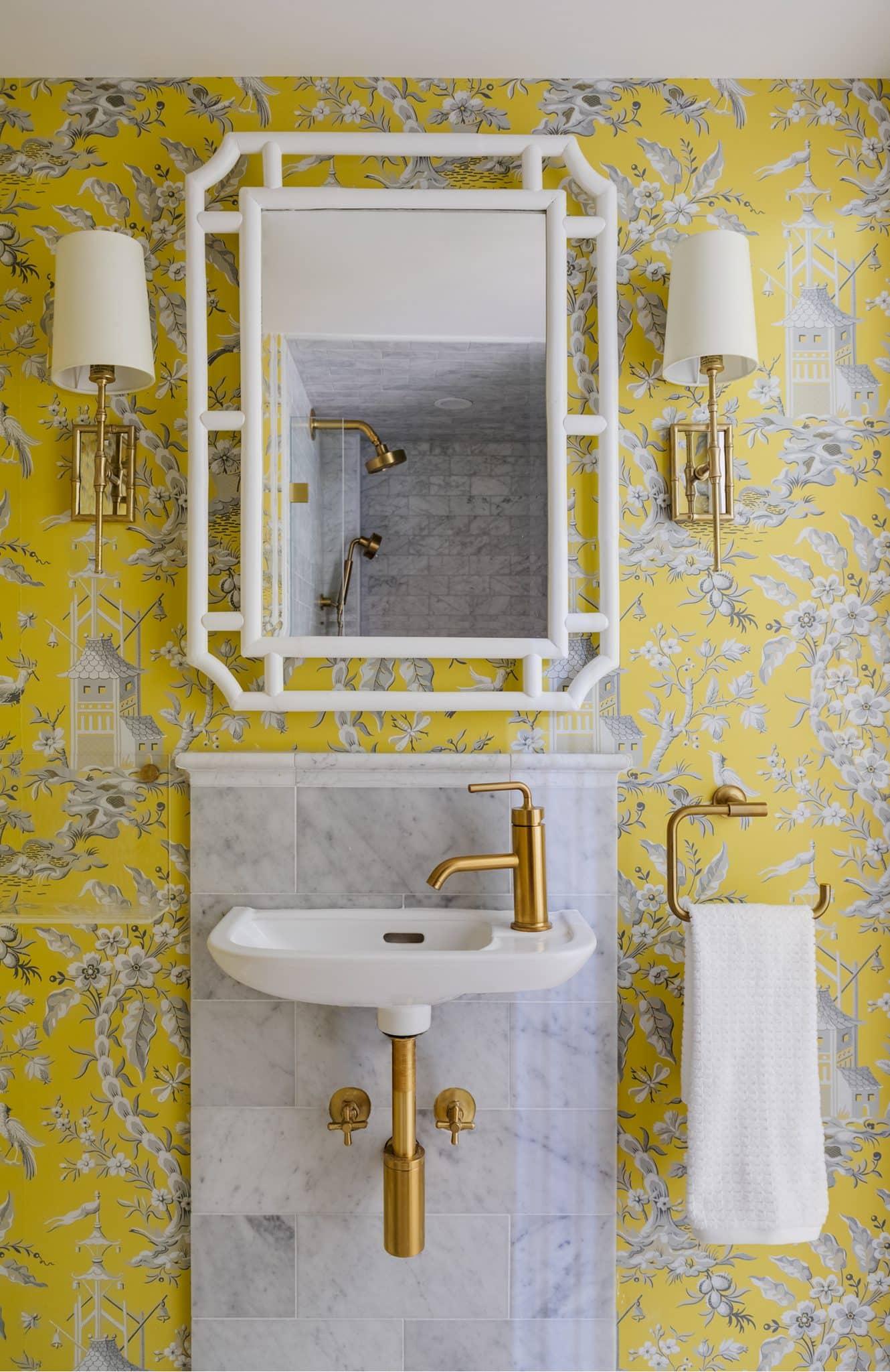 Asian Garden Colonial Hamilton MA Bathroom