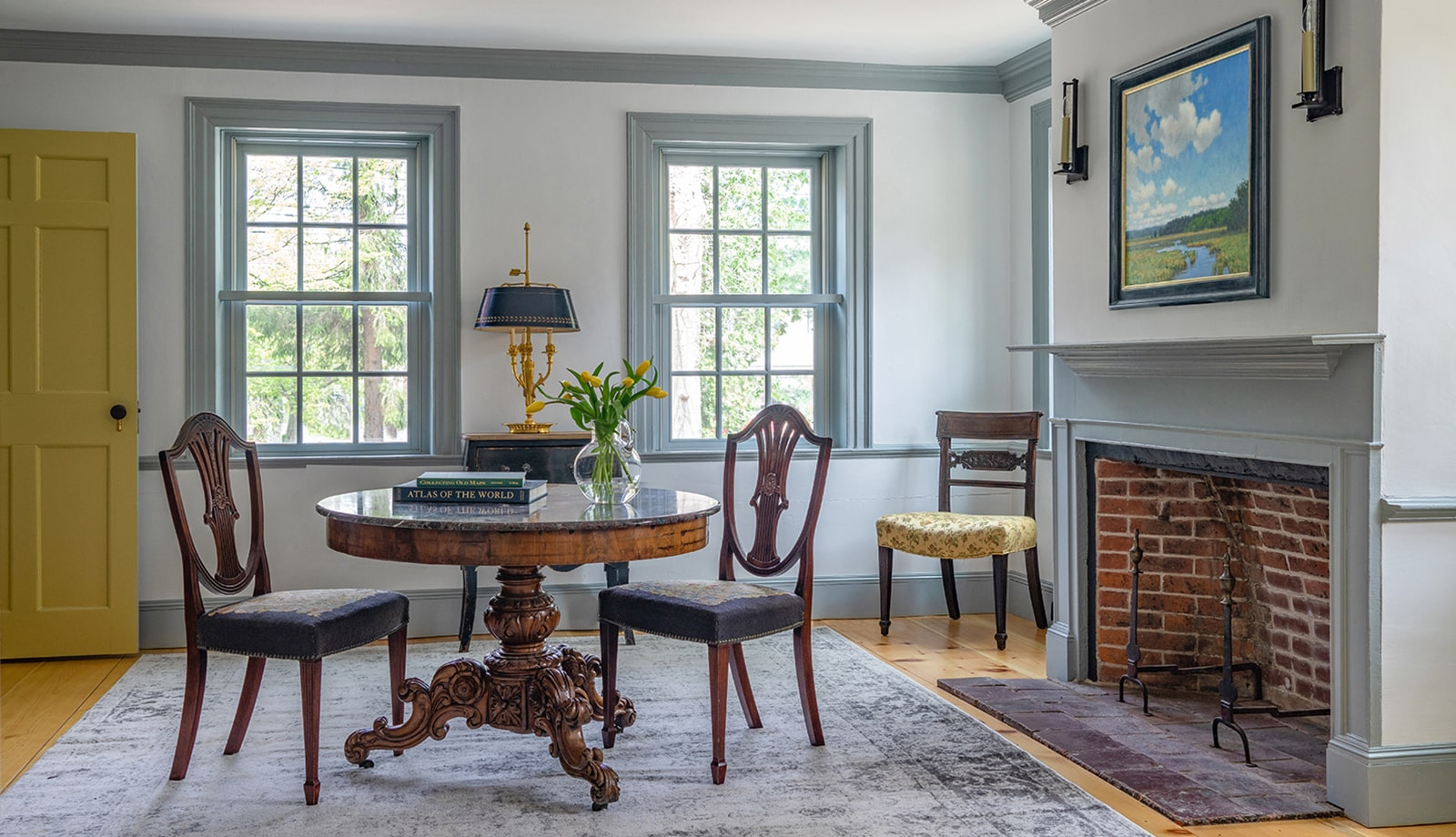 Centre Farm Lynnfield MA Sitting Room featured