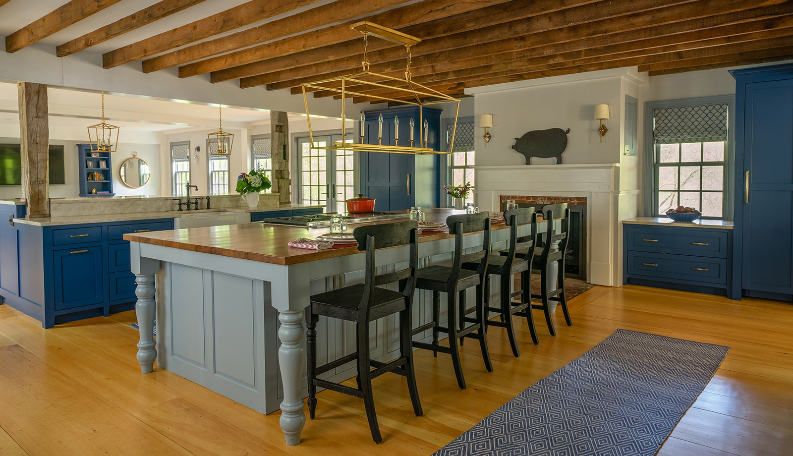 Centre Farm Lynnfield MA Interiors Kitchen