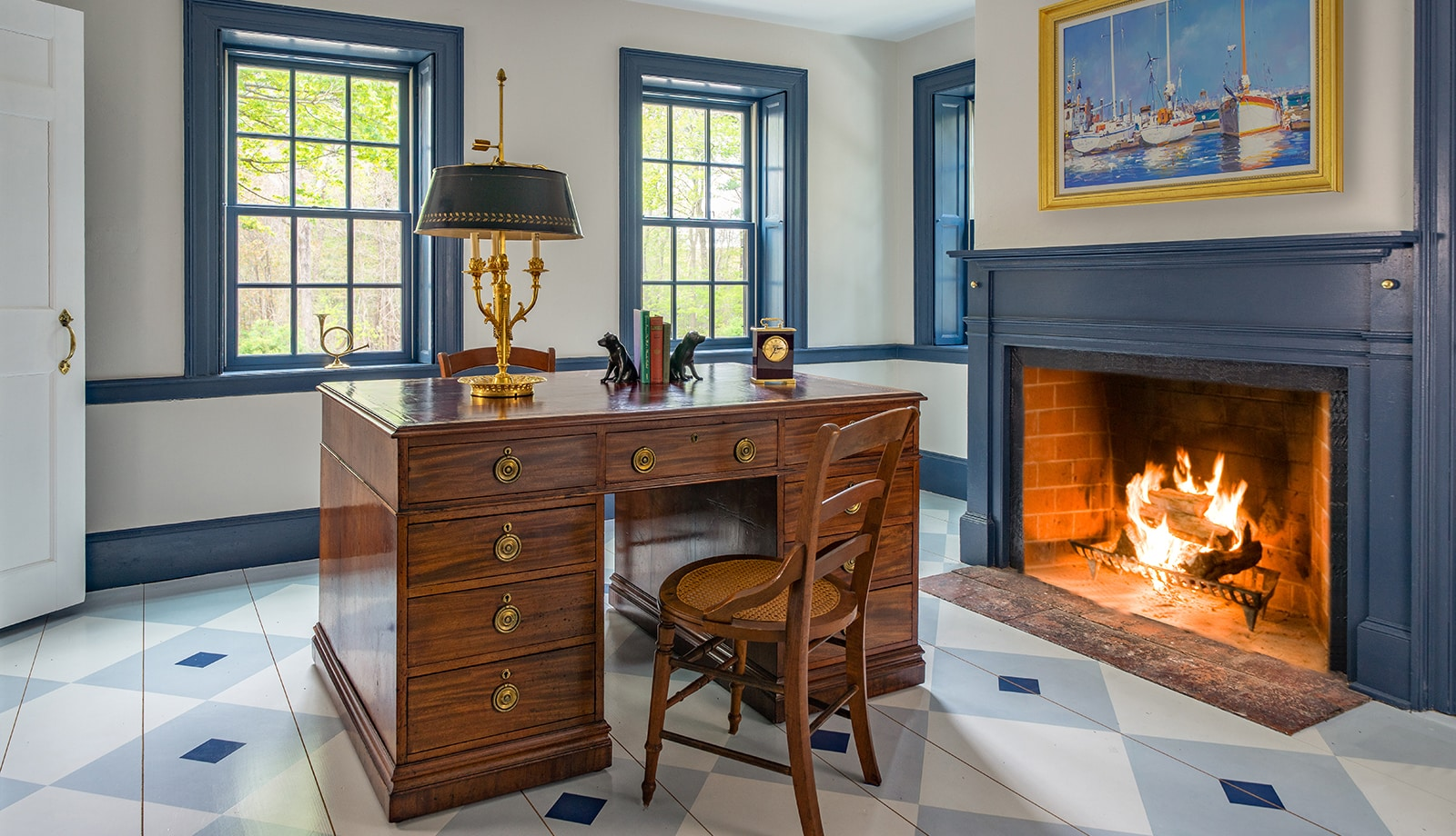 Centre Farm Lynnfield MA Interiors Office Featured