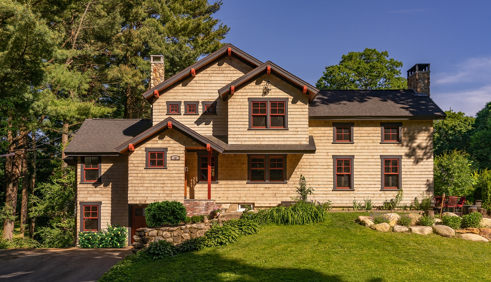 Country Craftsman Topsfield MA Exterior