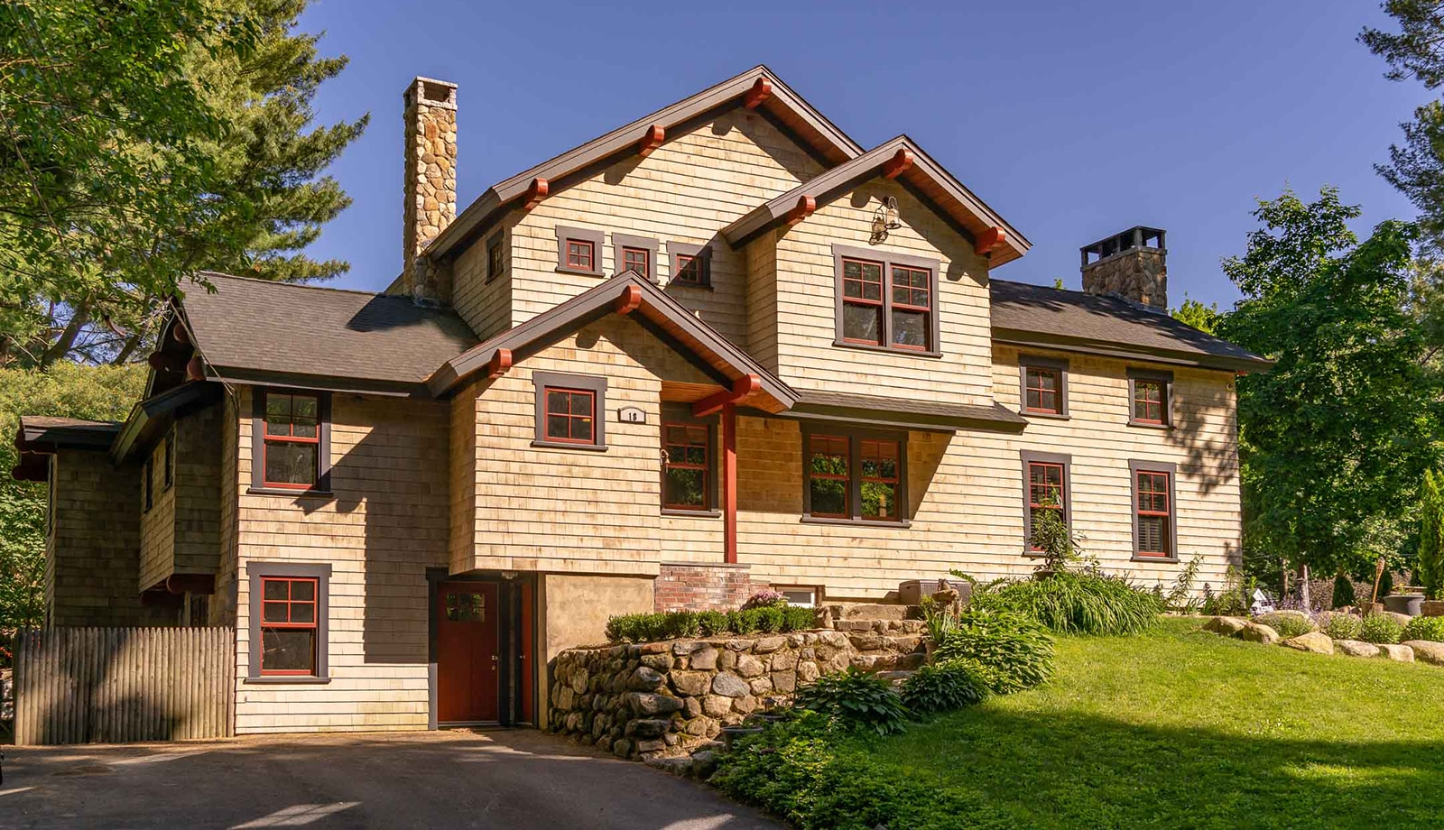 Country Craftsman Topsfield MA Exterior Featured