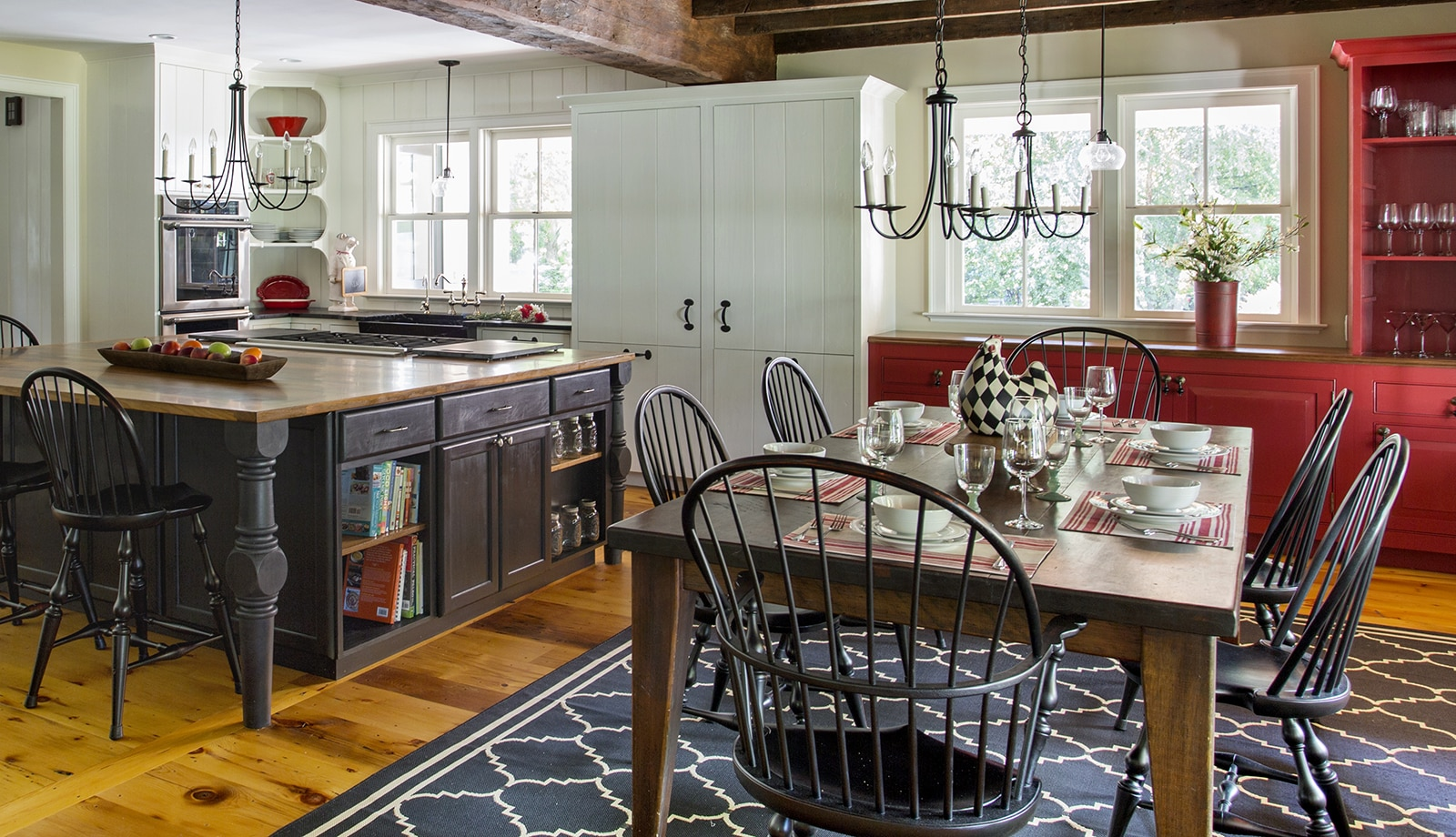 Lynnfield MA Farmhouse Kitchen featured