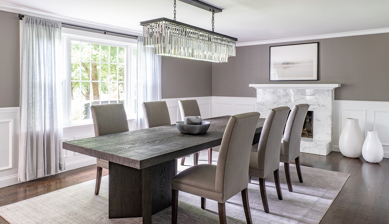 North Shore Tranquility Interiors Middleton MA Dining Room featured