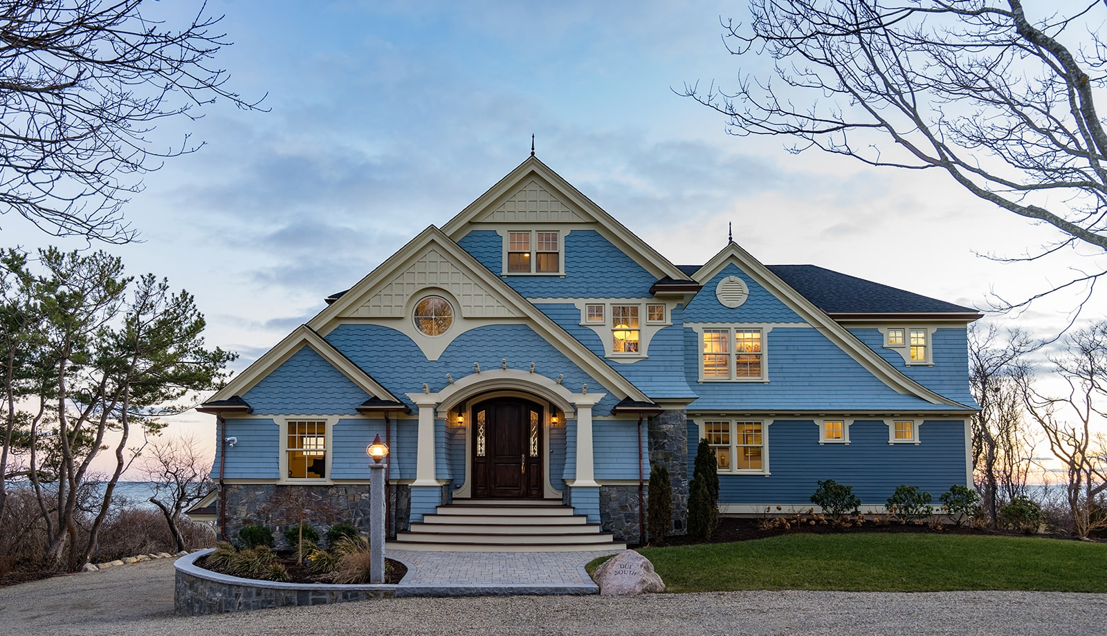 Oceanfront Shingle Style Gloucester MA Exterior