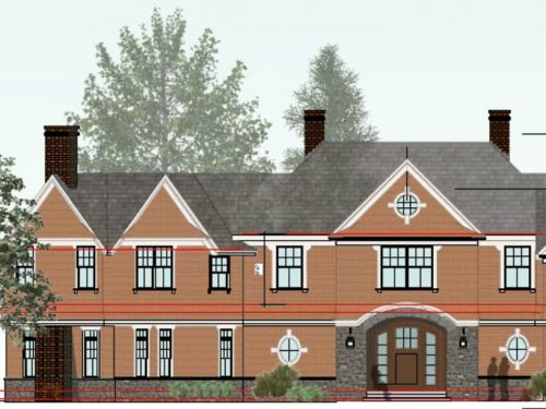 Schematic Rendering Exterior Elevation rev