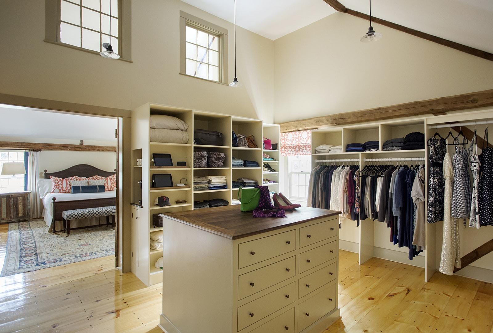 Stanwood Estate Topsfield MA Closet